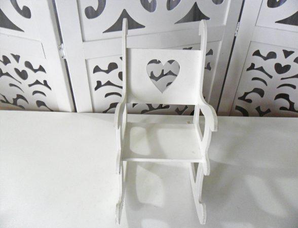 Locação de Cadeira de Balanço Coração