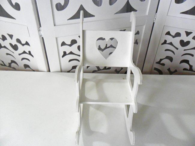 Cadeira Balanço Coração
