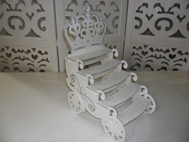 Carruagem Coroa de Doces