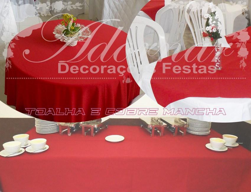 Aluguel Toalha de Mesa Para Festa