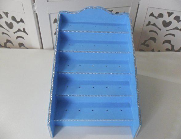 Locação de Piruliteiro Arquibancada Escada Azul