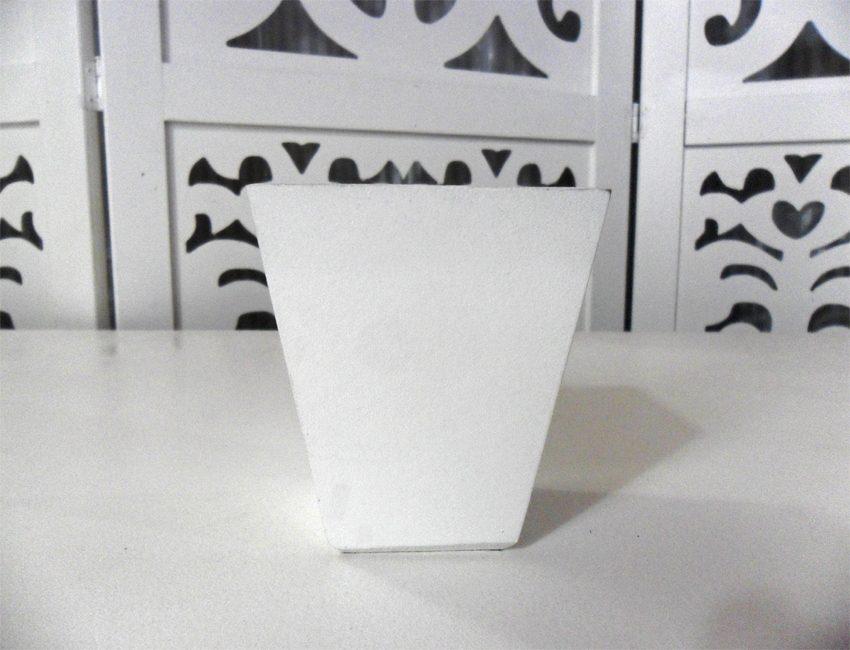 Locação de Mini Vaso Cachepô Liso de Mesa