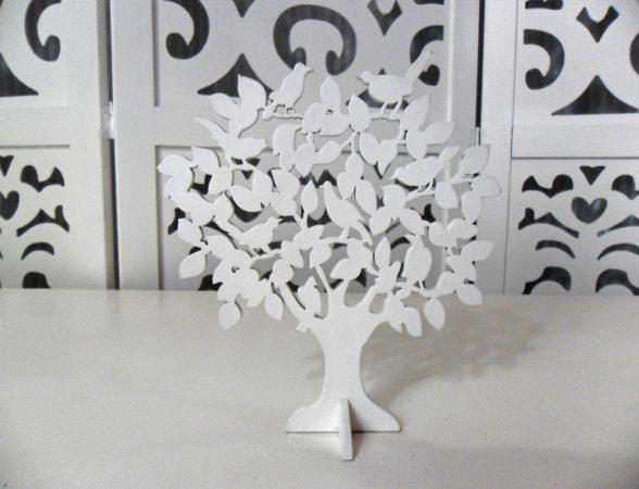 Locação de Árvore Pássaro Pequena Decorativa de Mesa