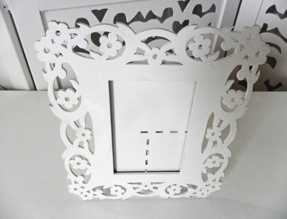 Locação Porta Retrato Floral de Mesa