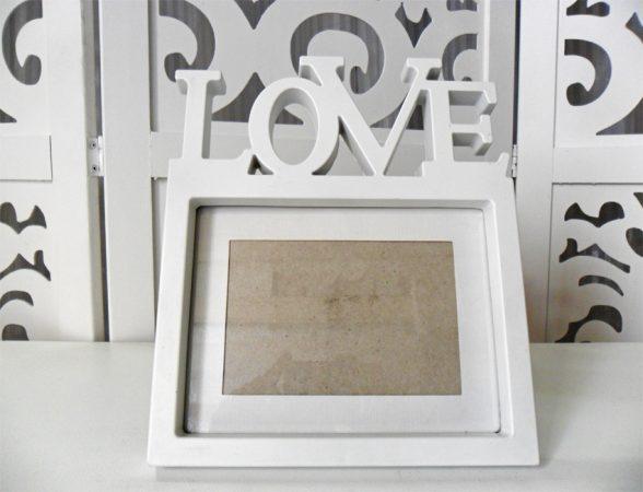 Locação Porta Retrato Love de Mesa