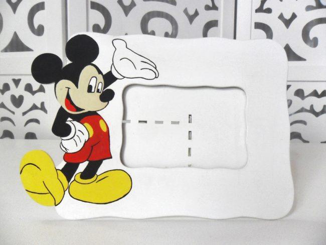 Porta Retrato Mickey Br