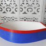 Locação de Barco Marinheiro Azul e Vermelho de Mesa em Provençal