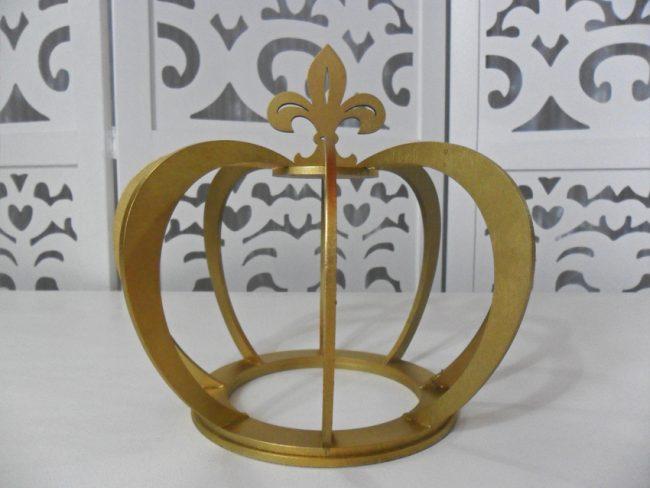 Coroa Dourada Grande