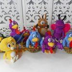 Locação de Kit Personagens Galinha Pintadinha Para Festa Infantil