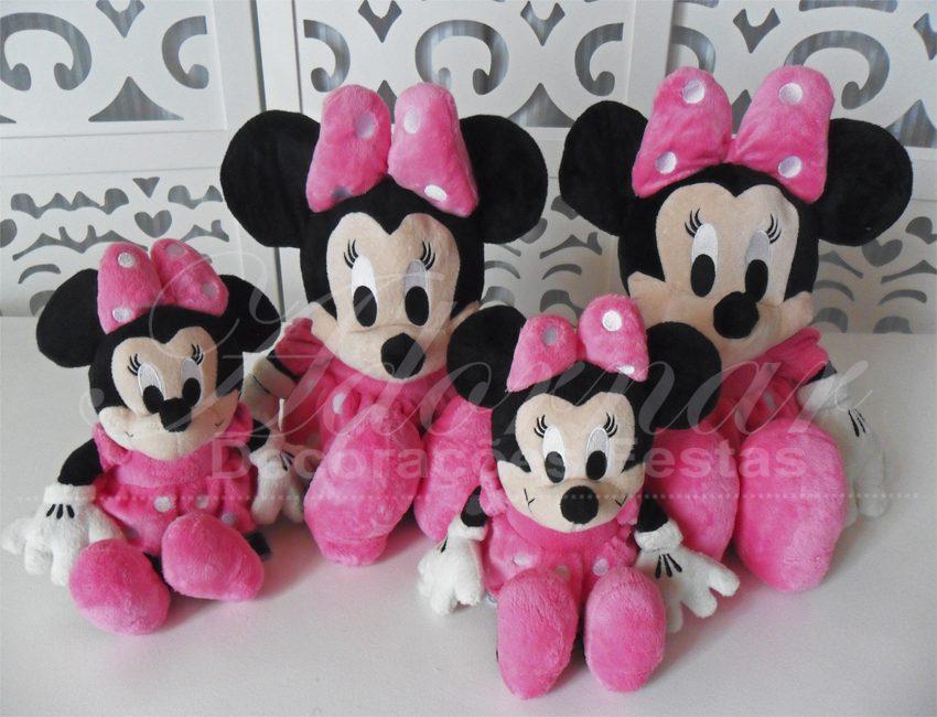 Locação de Kit Personagens Minnie Mouse Rosa Para Festa Infantil