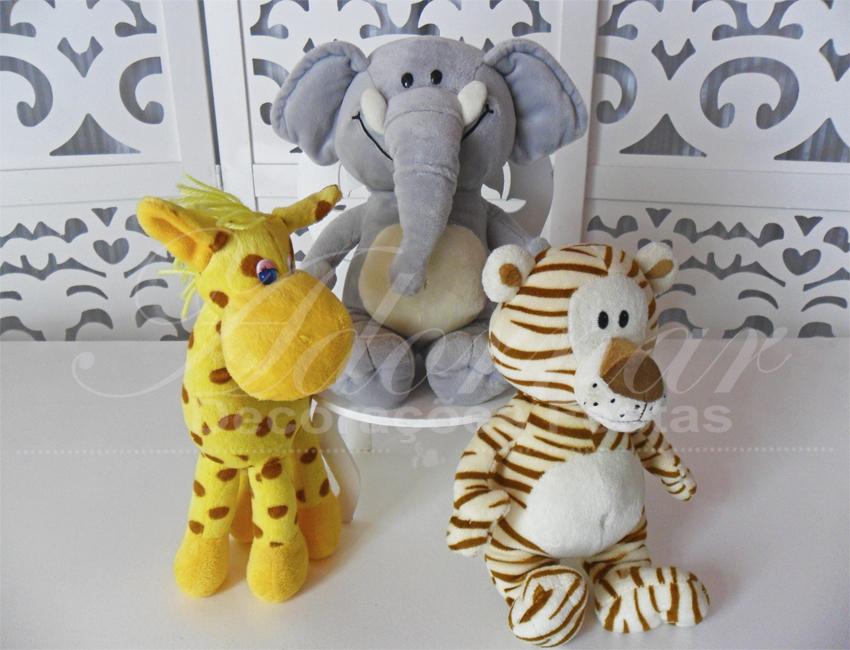 Locação de Kit Personagens Safari Para Festa Infantil