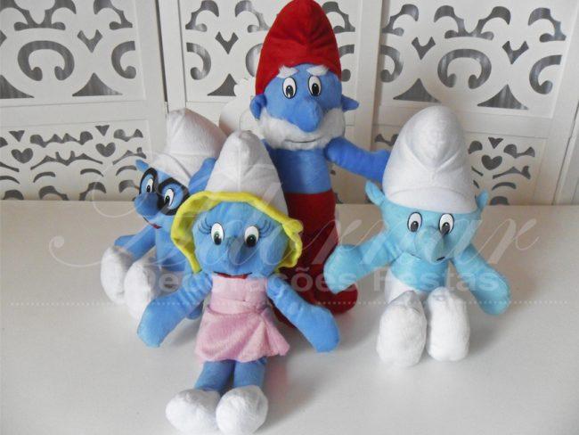 Kit Personagens Smurfs