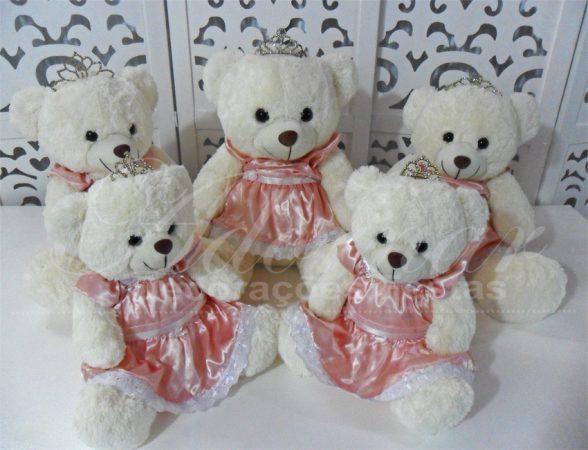 Locação de Kit Personagens Ursas Princesas Para Festa Infantil e Chá de Bebê