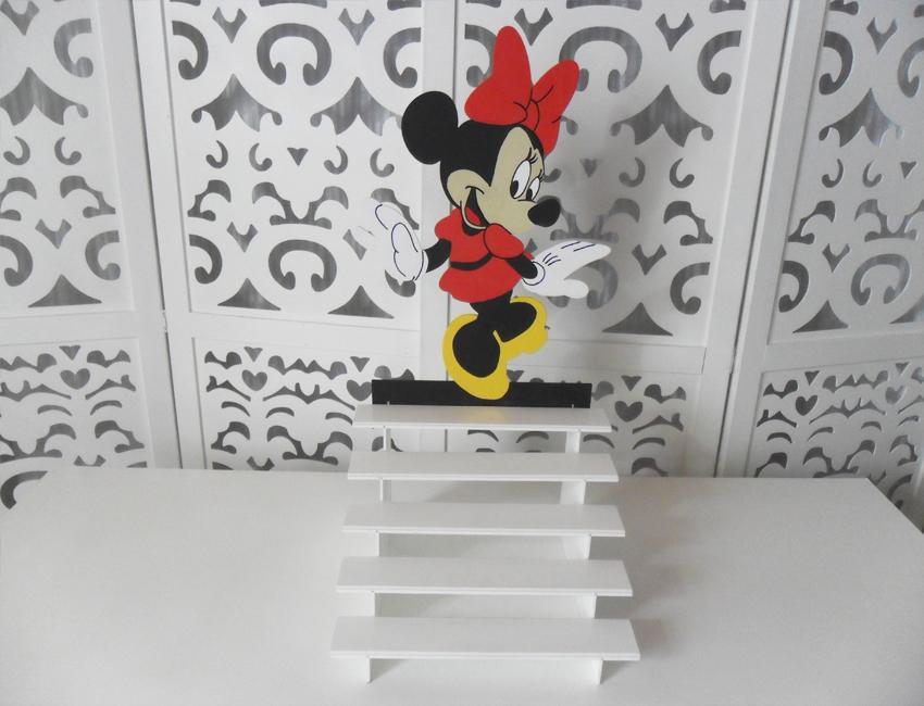 Locação de Porta Doces Minnie Cupcakes Escada em Provençal