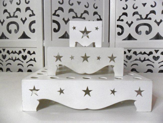 Porta Tubetes Estrela