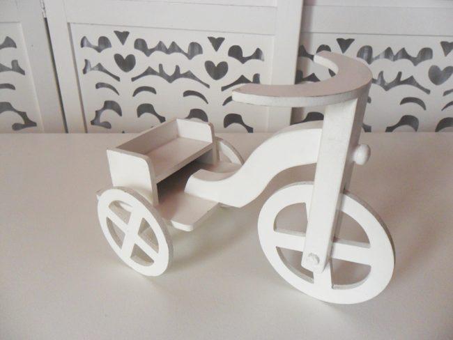 Triciclo Para Personagens
