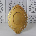 Locação Porta Retrato Dourado de Mesa em Provençal