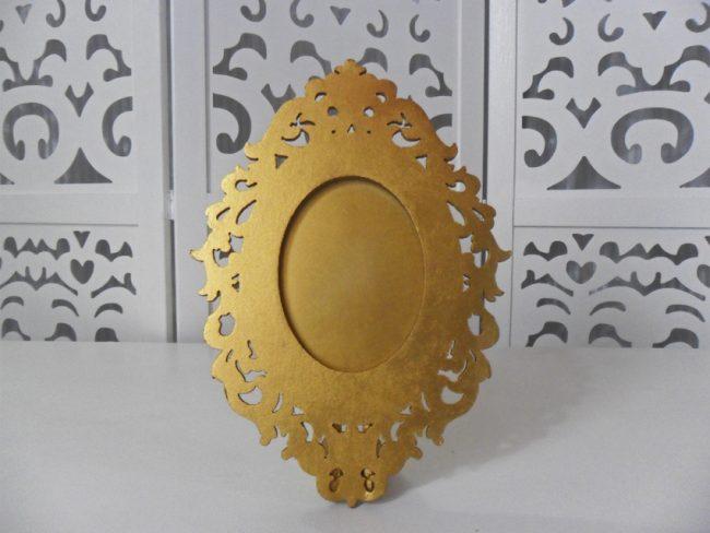 Porta Retrato Dourado