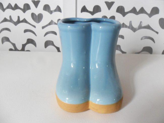 Botas de Porcelana Az