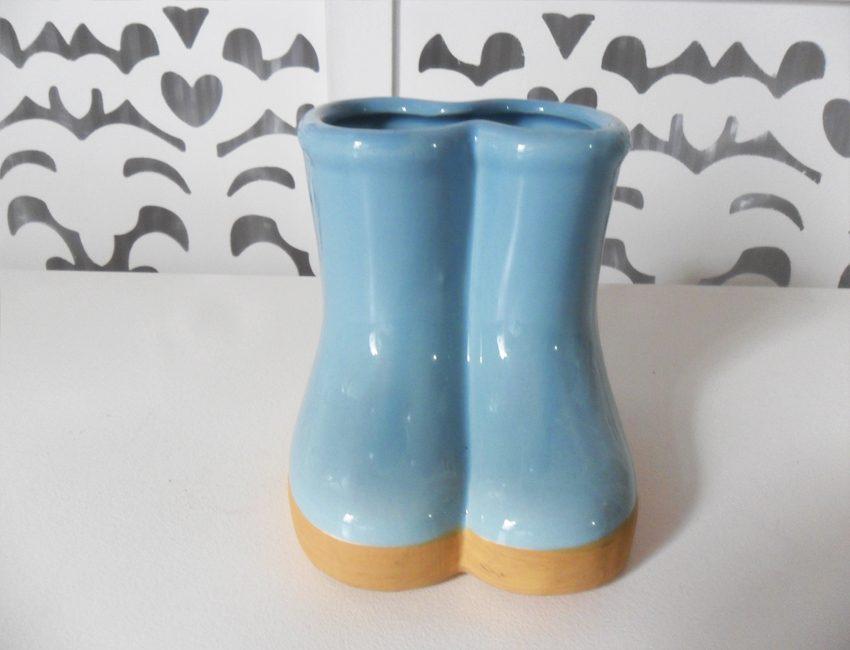 Locação de Botas de Porcelana Azul