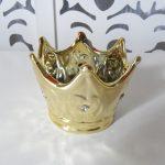 Locação de Coroa de Porcelana Dourada