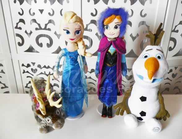 Locação de Kit Personagens Frozen Para Festa Infantil