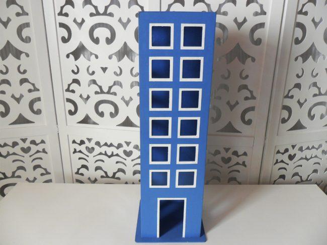 Prédio Azul Mesa