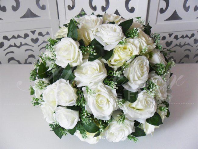 Arranjo Flores Branco