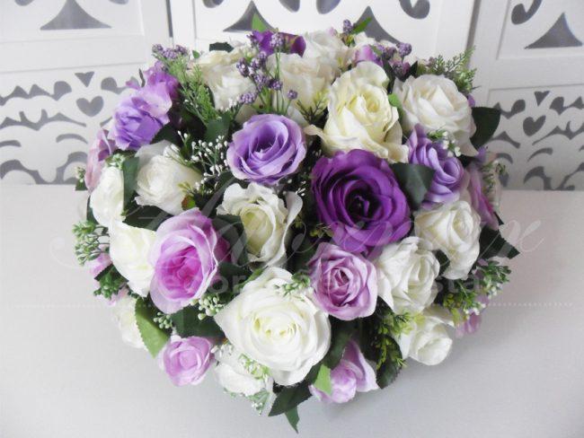 Arranjo Flores Lilás Br