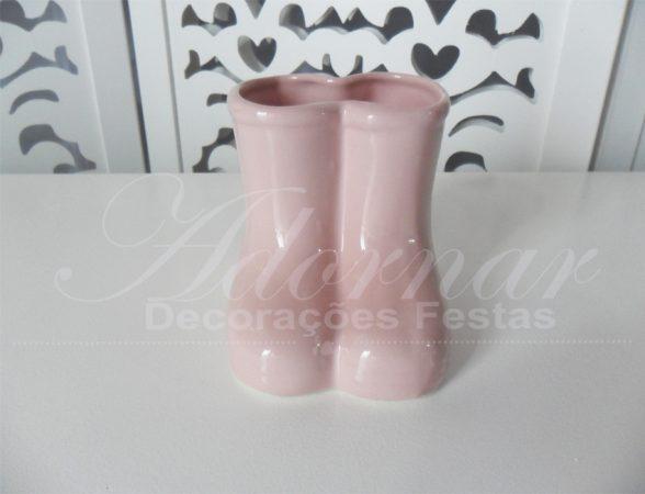 Locação de Botas de Porcelana Rosa