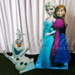 Aluguel de Cenário Kit Display de Chão Frozen