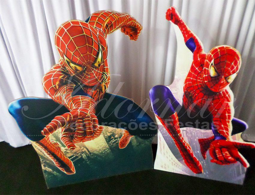 Aluguel de Cenário Kit Display de Chão Homem Aranha