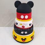 Locação de Bolo Cenográfico Mickey Para Festa Infantil e Eventos