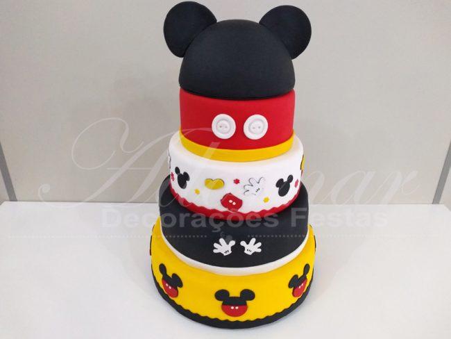 Bolo Fake do Mickey