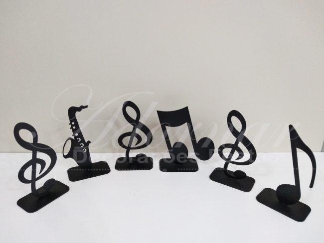 Kit Letras Musicais Mesa