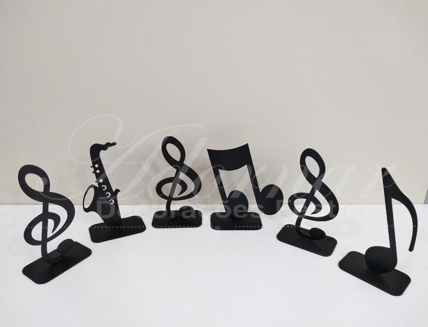 Locação de Kit Letras Musicais de Mesa