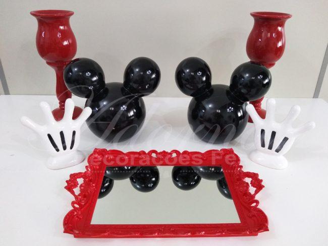 Kit Porcelana do Mickey