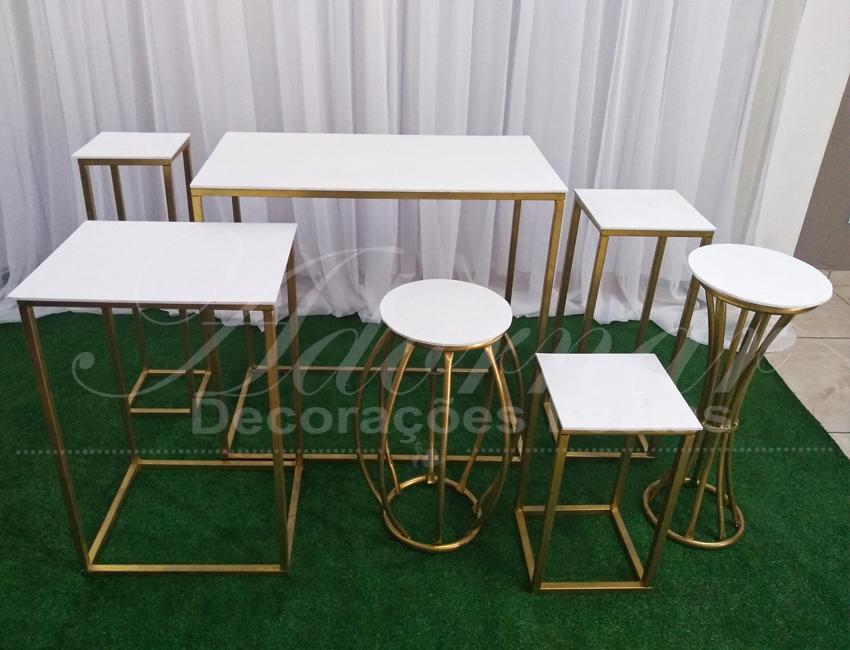 Aluguel Kit de Mesa Mini Table Para Decoração de Festa 1