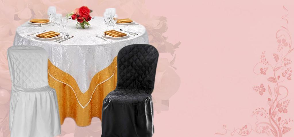 aluguel de toalhas cobre manchas e capas de cadeiras decoração festa