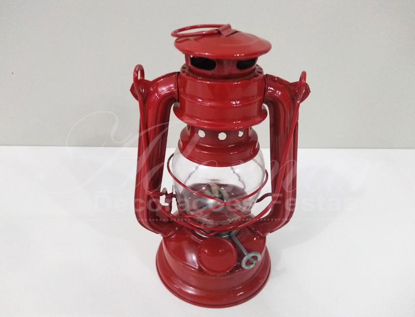 Locação de Lamparina Lampião Pequeno em Vermelho