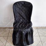 Locação Capa de Cadeira Preta
