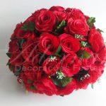 Locação de Arranjo de Flores Vermelho