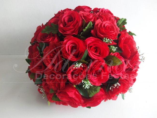 Arranjo Flores Vermelho